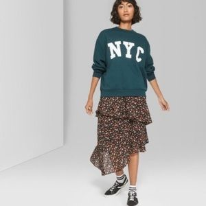 NYC graphic sweatshirt